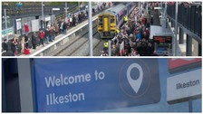 Ilkeston has got a new train station after 50 years of going without one.