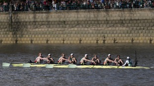 Cambridge win Women's Boat Race after dominating Oxford on River Thames