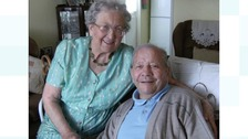 George and Phyllis Loftus married at Walsall Register Office on August 10 1940.