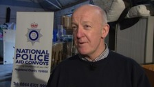David Scott works for the National Police Aid Convoys charity.