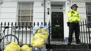 The property in Pimlico where the body of Gareth Williams was found in 2010