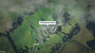 The incident happened near Innerleithen.