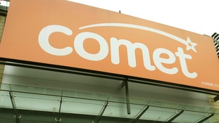 Comet store in North London
