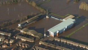 Brunton Park flooded in 2015.