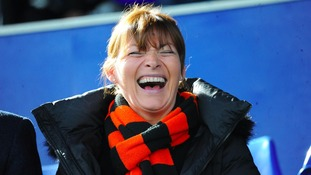 Lorraine Kelly at Palmerston Park.
