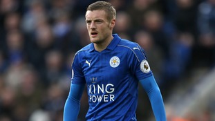 Striker Jame Vardy