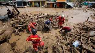 Colombia landslides: Death toll rises to 262