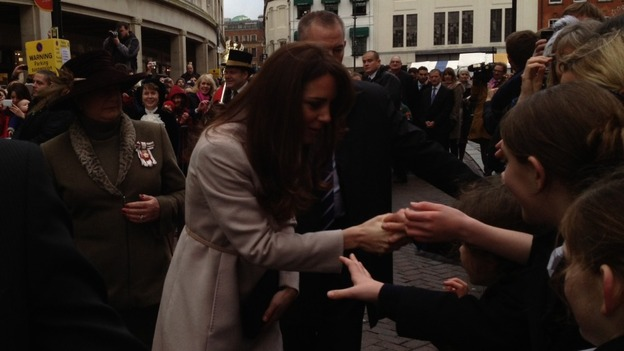 Duchess of Cambridge in Cambridge
