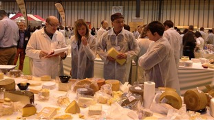 Cheese at Good Food show in Birmingham