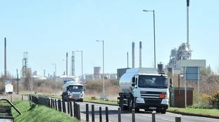 Stanlow oil refinery, Ellesmere Port, Cheshire