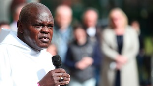 Dr John Sentamu is not happy with Cadbury's dropping the word Easter