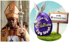 Archbishop of York in row with Cadbury and National Trust over Easter egg hunt
