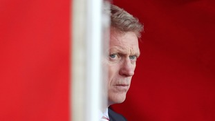 David Moyes does not fear for job over 'slap' remark