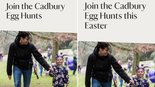 The National Trust added the word 'Easter' to the pages headline.