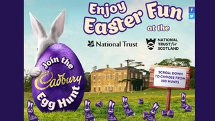 The Cadbury page mentions Easter, but not in the event title.