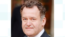 Former royal butler Paul Burrell has married his boyfriend in the Lake District.