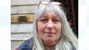 Andrew's mother, Julie Sheppard, has been campaigning outside the Foreign Office.