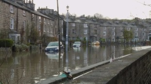 Flooding in Kendal.