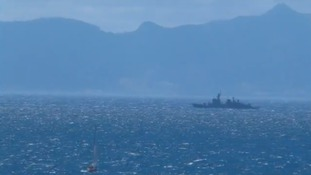 Spanish Navy ship makes illegal incursion into UK waters off Gibraltar