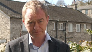 Tim Farron said the Liberal Democrats were the 'real opposition'.
