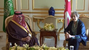 Theresa May's dilemma on Brexit trade mission to Saudi Arabia