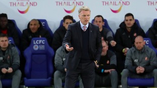 Sunderland manager David Moyes during the Premier League match at the King Power Stadium, Leicester.