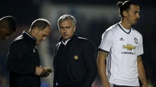 Zlatan and Jose Mourinho