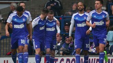 Sears and McGoldrick were both on the scoresheet at Portman Road.