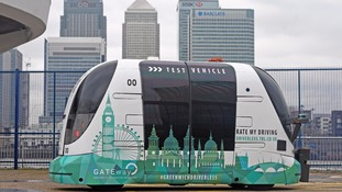 Public in Greenwich to test driverless vehicles for the first time
