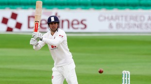 Alastair Cook will play no part against Lancashire.