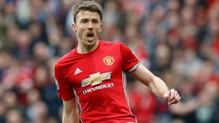 Midfielder Michael Carrick
