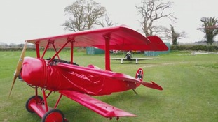 Doctor spends £70,000 building replica of the Red Baron's Fokker fighter