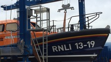 The new lifeboat.