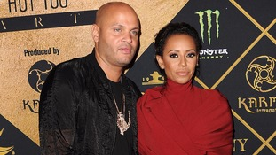 Mel B and Stephen Belafonte.