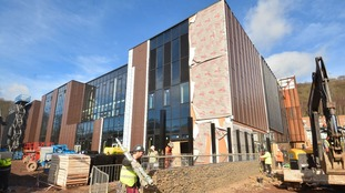 WATCH: Progress at new £50m Scottish Borders schools