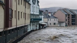 The youth hostel, and many other businesses, were flooded.