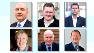 The six candidates for the post of Mayor for the West of England
