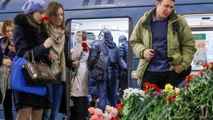 Seven arrested in St Petersburg bomb probe