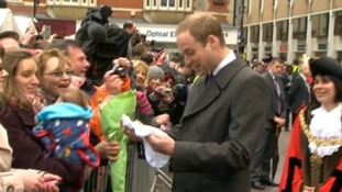 Prince William and Kate Middleton Cambridge