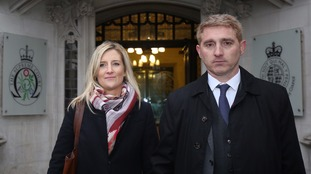 Jon Platt, seen with his wife Sally, challenged a conviction for taking his daughter on an unauthorised holiday during school term time.
