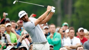 "Dustin Johnson doubtful for Masters after injuring himself in a ""serious fall"""