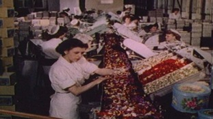 Cadbury production lines