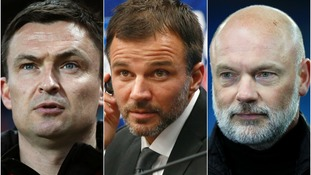 Paul Heckingbottom (left), Anthony Hudson (centre) and Uwe Rösler (right) have all been linked with the Carrow Road vacancy.