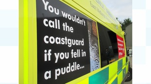 EMAS are trying to raise awareness: Be #999wise