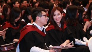 Bristol goes to Beijing for graduation ceremony