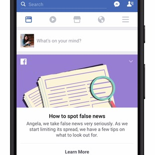 The prompt will offer 10 tips on how to stop fake news spreading.