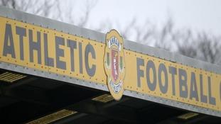 Annan Athletic.