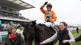 Devon jockey Lizzie Kelly triumphs at Aintree