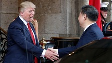 Donald Trump, meeting Xi Jingping for the first time, has been highly critical of China.