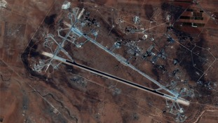 The Shayrat Airfield in Syria